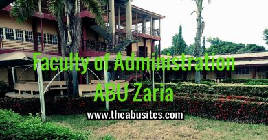 ABU Postgraduate Admission Requirements - Faculty of Administration 5