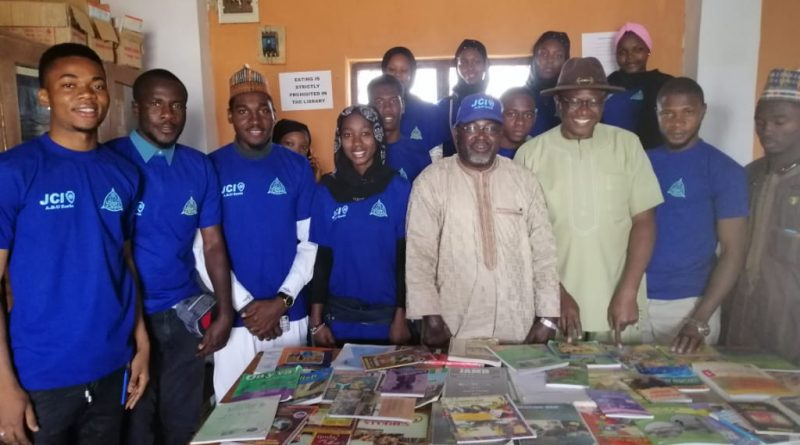 International Day of Education 2020: JCIN ABU Zaria, Visit Schools, Donate Books 8