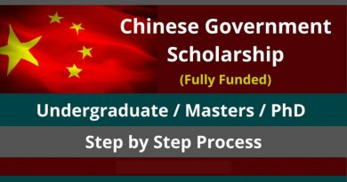 How to Access Fully Funded Chinese Government Scholarship 2021-22 4