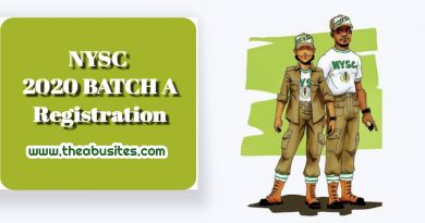 Official Guide to NYSC 2020 Batch A Online Registration 4