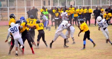 ABU Titans: The First American Football Team in West Africa. 5