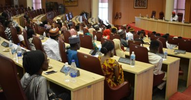 [Photos] ABU Students Hosted By Ecowas, Ministry of Foreign Affairs. 5
