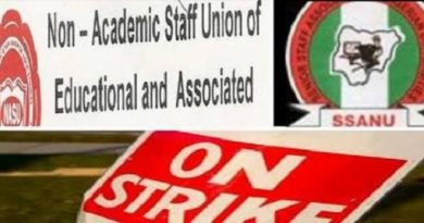 NASU Gives Notice For Indefinite Strike 6