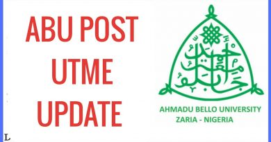 ABU post UTME screening 2020 official update 4