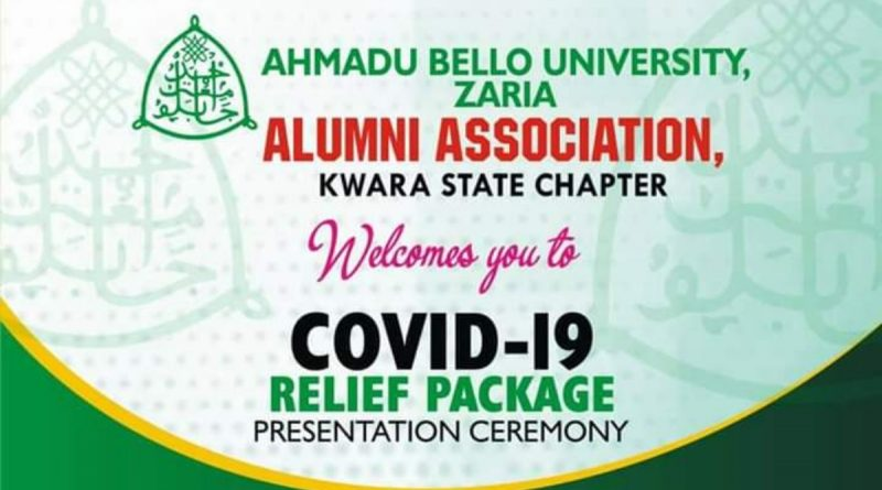 Covid -19: Kwara ABU Alumni distributes palliatives to 100 households 1