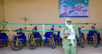 Abusite Corper Donates 12 WheelChairs to Physically Challenged Students 3