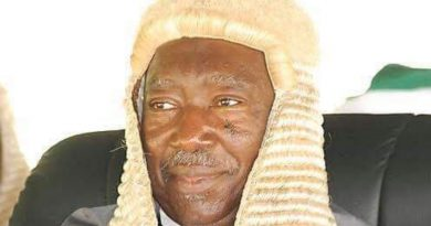 A distinguished Abusite, Justice Nasiru Ajanah is dead 5