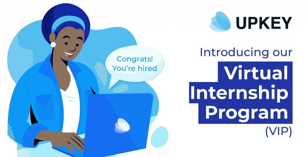 Apply for the free Upkey's Virtual Internship Program