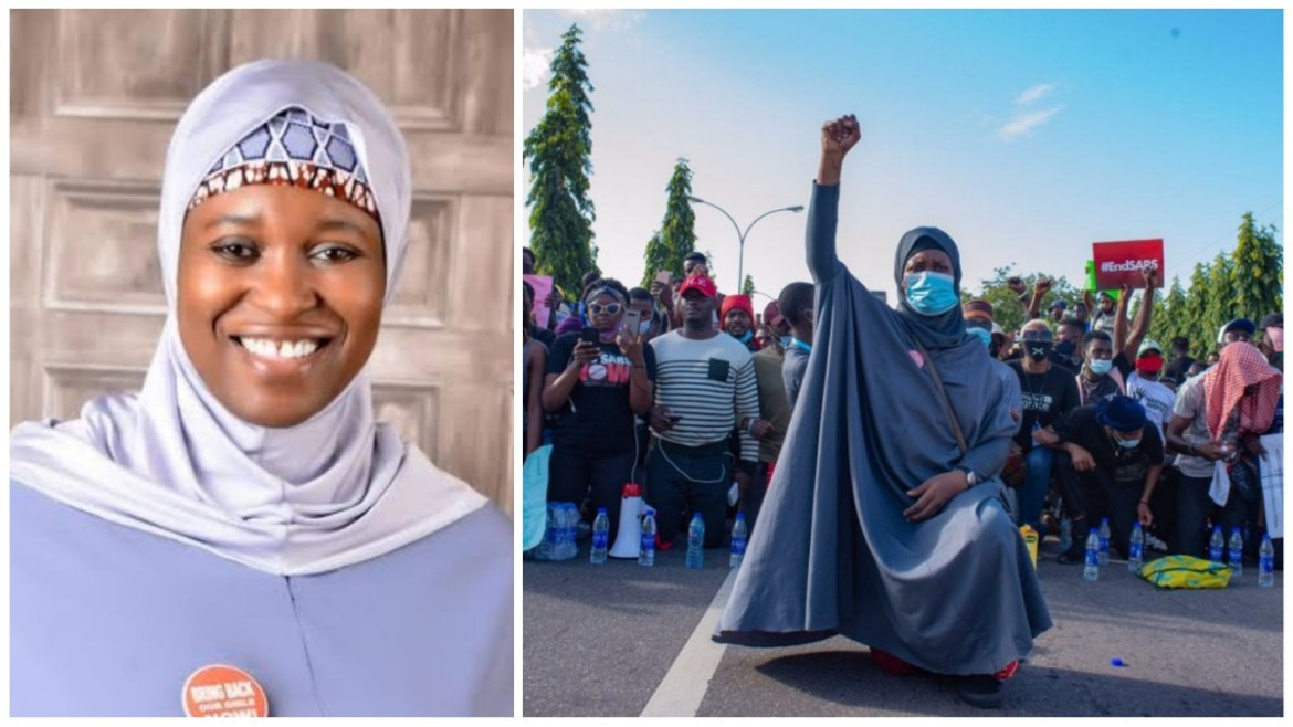 Who Is Aisha Yesufu: The Fearless Nigerian Political Activist   The Abusites