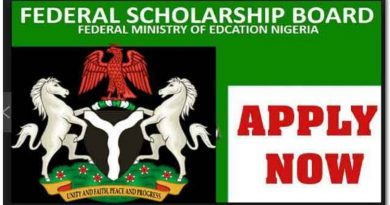 Federal Government Scholarship Scheme 2021/2022: Call For Applications 5