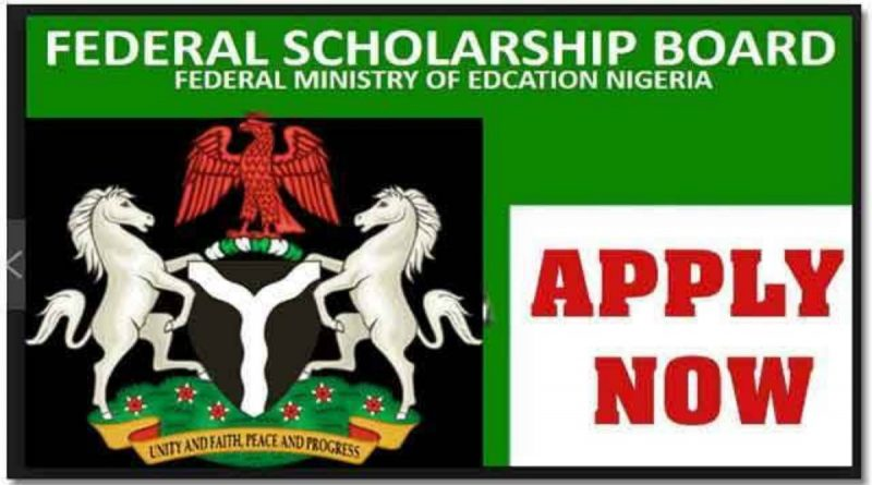 CALL FOR APPLICATIONS: 2021/2022 FEDERAL GOVERNMENT SCHOLARSHIP SCHEME 1