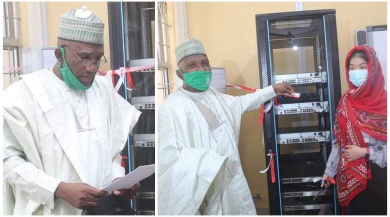 Huawei Commissions ICT equipment in ABU 4