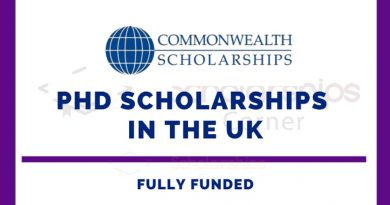 Commonwealth PhD Scholarships 2021 for LDC and Fragile States 5
