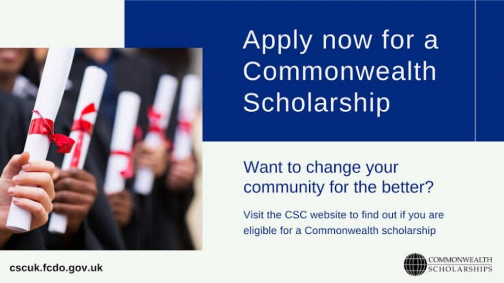 Apply for Commonwealth Distance Learning Scholarships 2021