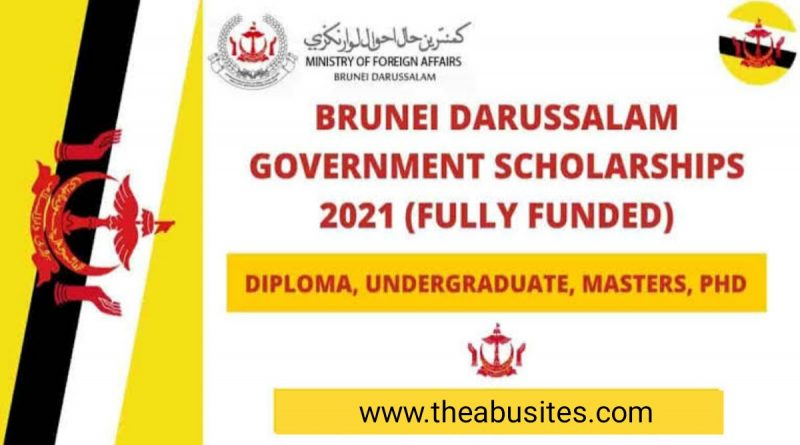 Brunei Darussalam Government Scholarship 2021/2022 (Fully Funded) 3