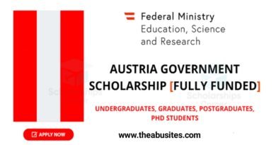 Austria Government Scholarship 2021-2022 (Fully Funded) 4