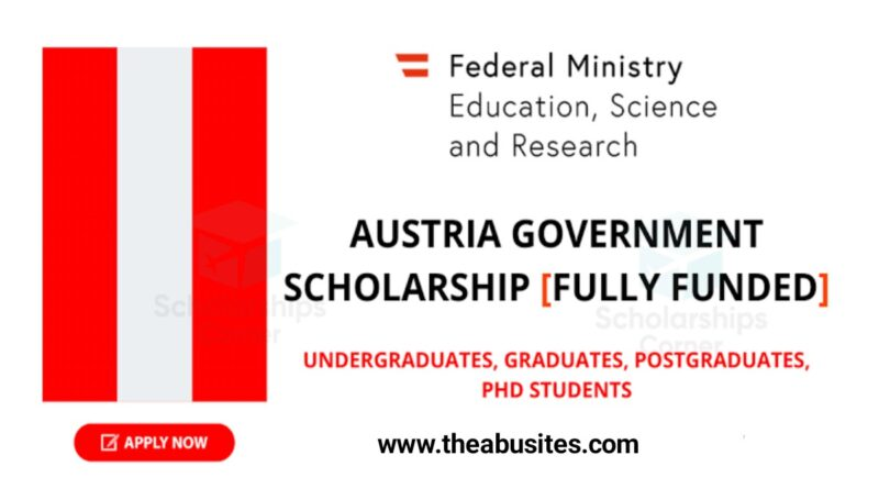 Austria Government Scholarship 2021-2022 (Fully Funded) 1