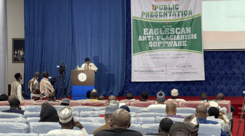 EagleScan: FG launches Anti-plagiarism software for higher institutions 1