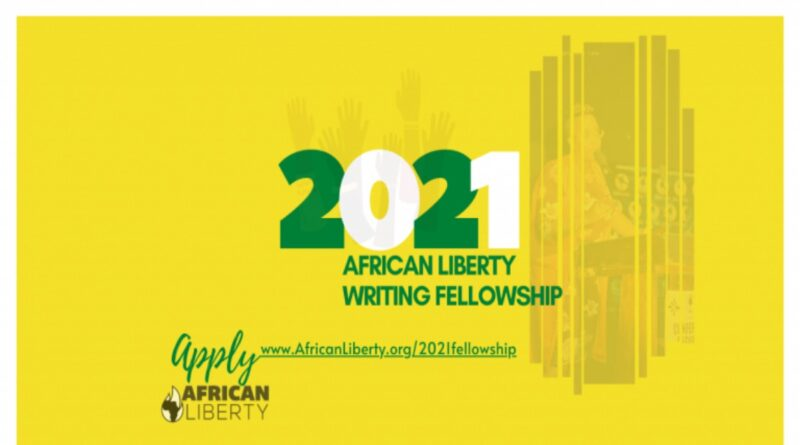 African Liberty Writing Fellowship 2021 for Young Writers 1