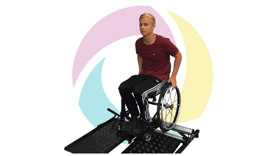 Exercise equipment for wheelchair users the accessible