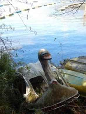 swan boat lake ashi