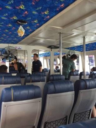 Semaya One ferry interior