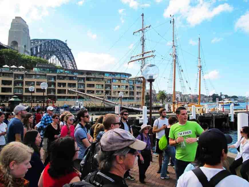 I'm free tour Sydney