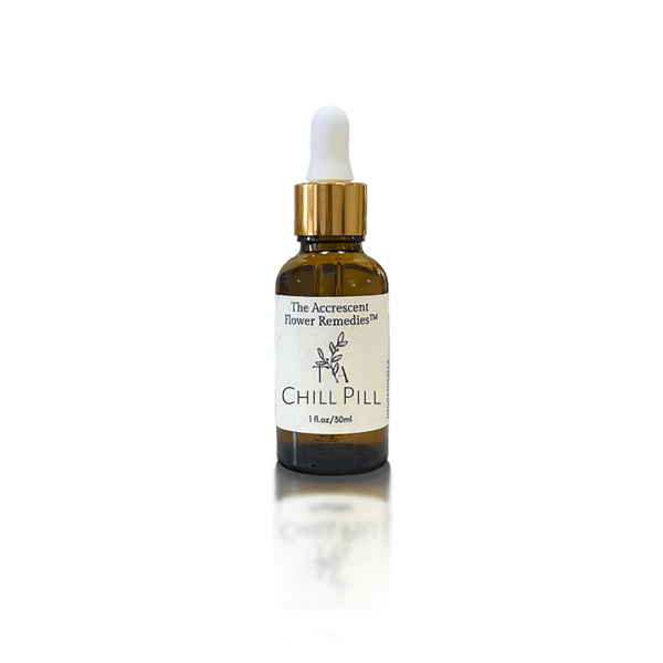 The Accrescent Flower Remedy Chill Pill