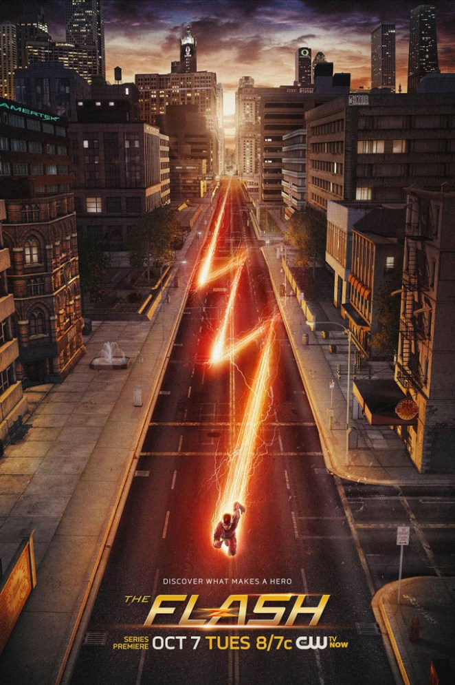 The Flash series 'Easter Egg' Poster
