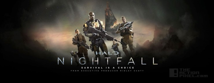 Halo Nightfall @ TheActionPixel