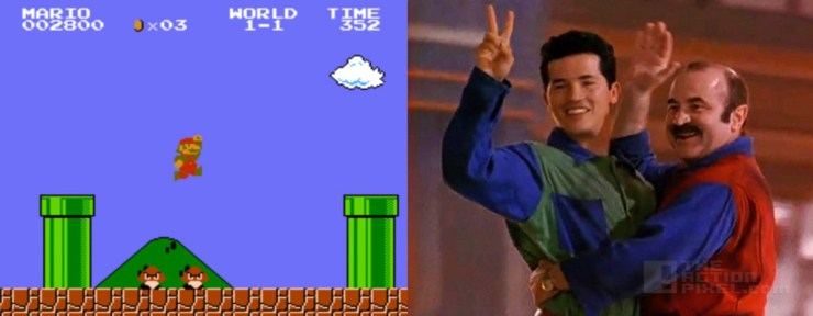 Super Mario Bros. @ theactionpixel.com