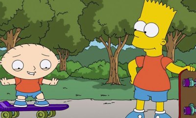 Simpsons / Family Guy Crossover ep. © 2014 Fox