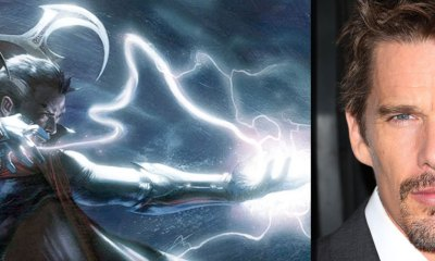 Ethan could be Dr. Strange