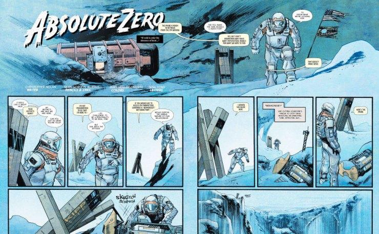 absolute zero comic/ Interstellar . THE ACTION PIXEL @theactionpixel