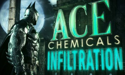 batman Ace Chemicals Illfiltration. The Action Pixel. @TheActionPixel