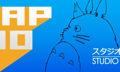 #TAP10 Studio Ghibli Animation. The Action Pixel. @TheActionPixel