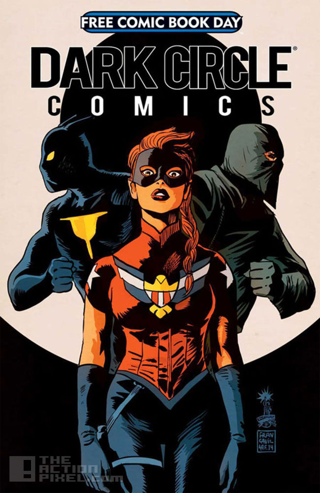 dark circle Comics. The Action Pixel. @TheActionPixel