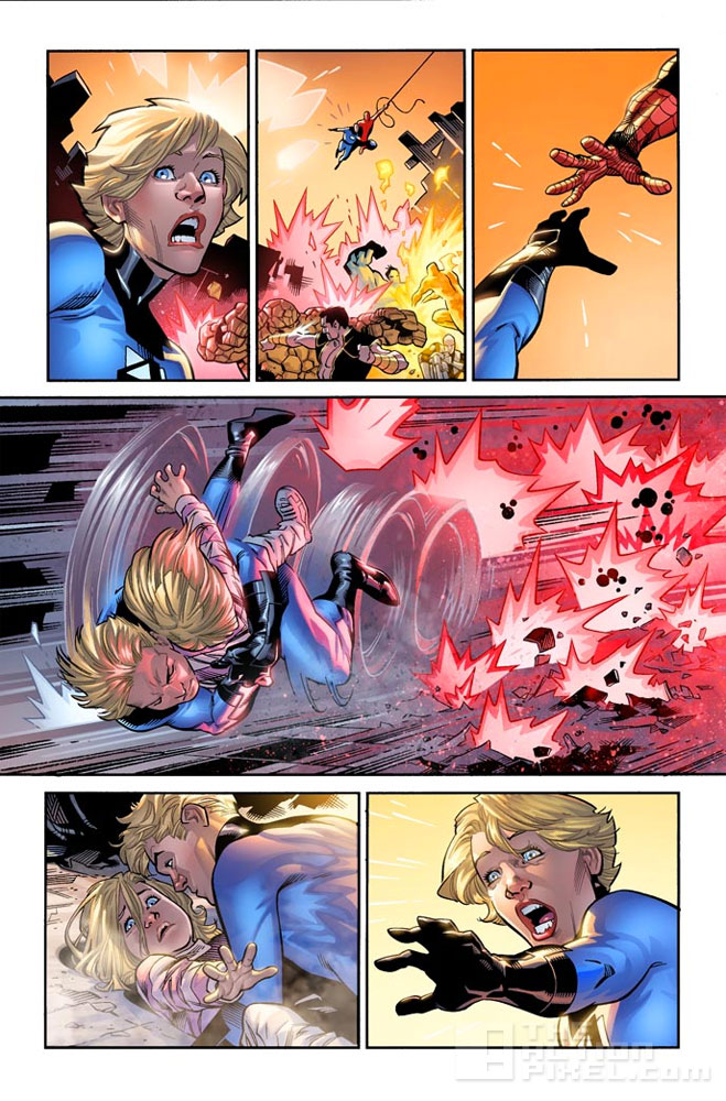 Marvel's fantastic four: The end is fourever (issue 642). The Action Pixel. @theactionpixel