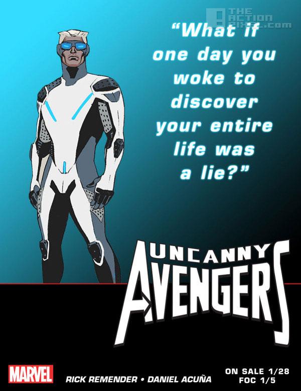 quicksilver teaser. Uncanny Avengers. Marvel. The action pixel. @theactionpixel