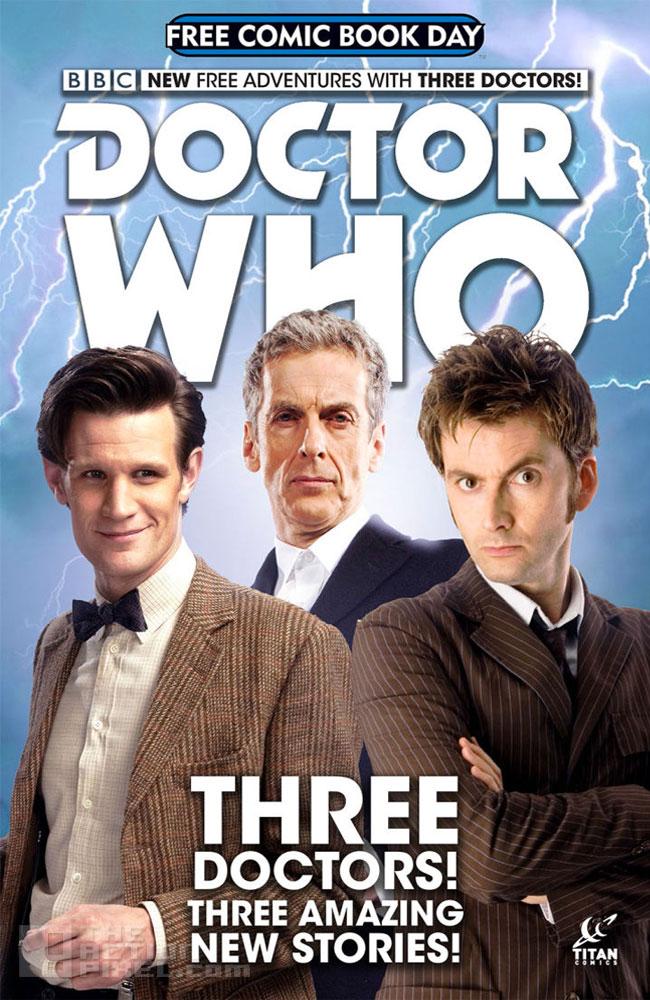 titan comics / Doctor Who. The Action Pixel. @theactionpixel