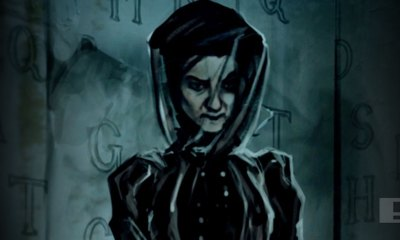 woman in black 2: angel of death. Hammer. The action pixel. @theactionpixel