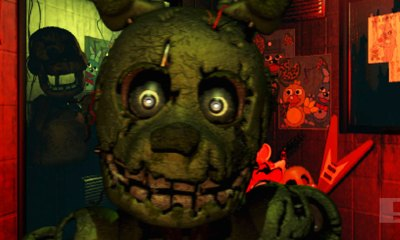 five nights at freddy's 3. the action pixel. @theactionpixel