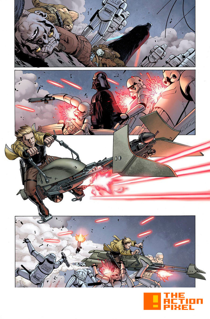 star wars #2, 3pg. The Action Pixel. @theactionpixel