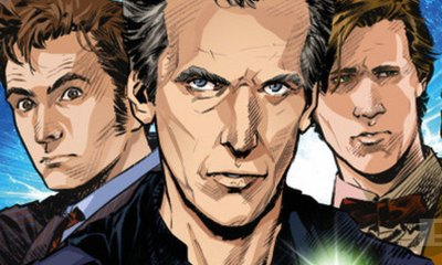 DOCTOR WHO BANNER. BBC. THE ACTION PIXEL. @THEACTIONPIXEL