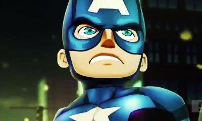 marvel mighty heroes. the action pixel. @theactionpixel captain america
