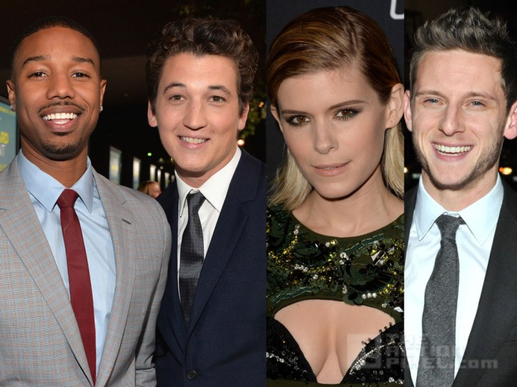 The Fantastic Four movie has an August 7, 2015 release directed by Josh Trank starring Miles Teller as Reed Richards, Michael B. Jordan as Johnny Storm, Jamie Bell as Ben Grimm,  Kate Mara as Sue Storm and Toby Kebbell as Victor von Doom.