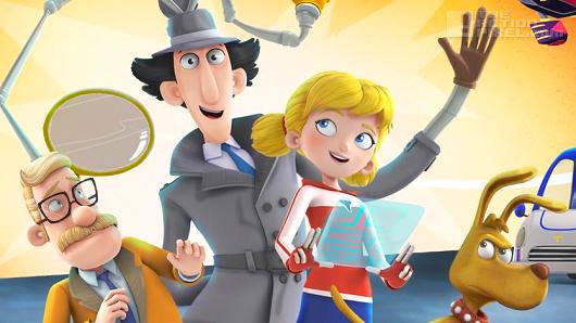 inspector gadget. the action pixel. netflix. @theactionpixel