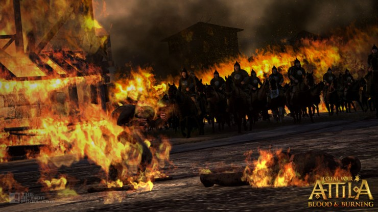 total war: attila Blood and Burning dlc. the action pixel @theactionpixel creative assembly