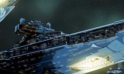 star wars tie fighter fan animation. the action pixel. @theactionpixel