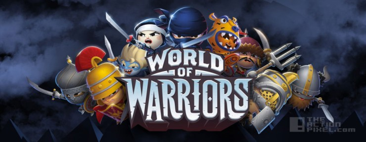 world of warriors pvp mode. mind candy. the action pixel. @theactionpixel
